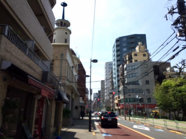 二本榎通りと消防署 – Simple is...