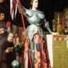 シャルル7世の戴冠式でのジャンヌダルク(ルーブル美術館、アングル)