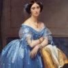 ドブロリ公爵夫人(メトロポリタン美術館、アングル)