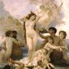 ヴィーナスの誕生(オルセー美術館、ブグロー)