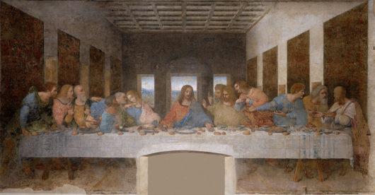 最後の晩餐(グラッツィエ教会、ダヴィンチ)