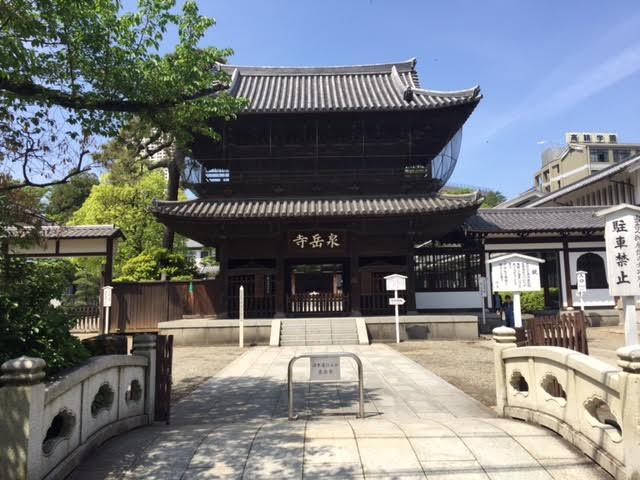 高輪 山手線新駅・品川駅再開発(6)泉岳寺と赤穂浪士
