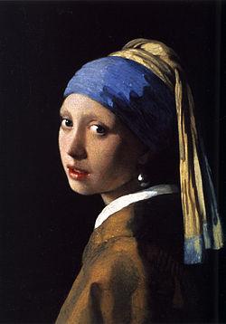 真珠の首飾りの少女(マウリッツハイツ美術館、フェルメール)