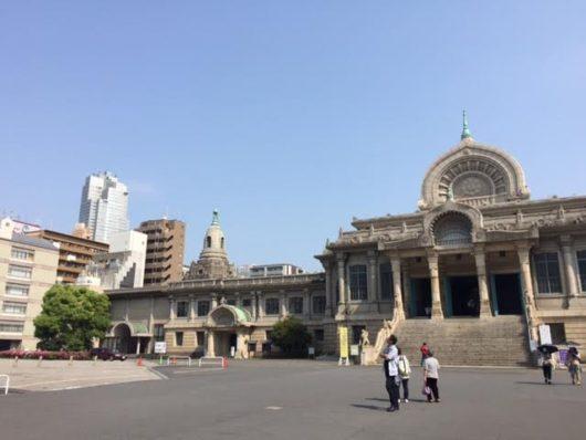 築地本願寺と聖路加ガーデン