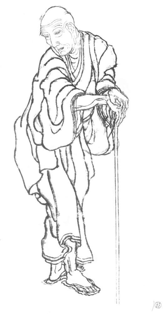 葛飾北斎(自画像)
