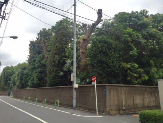 白金2丁目(三光坂)