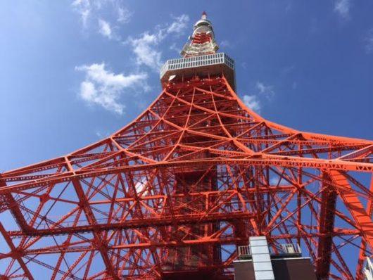 東京タワー(真下から)