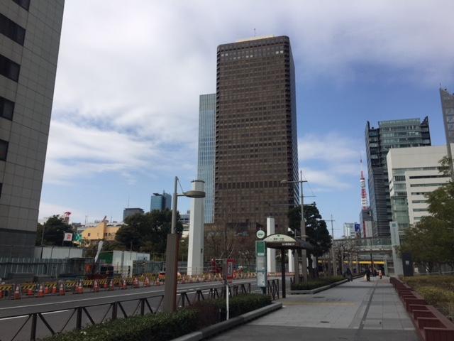浜松町 西の大門通りから東の竹芝通りと歩いてみた