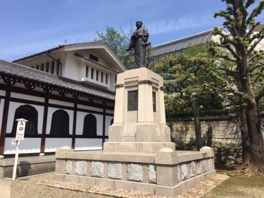 泉岳寺 大石内蔵助像