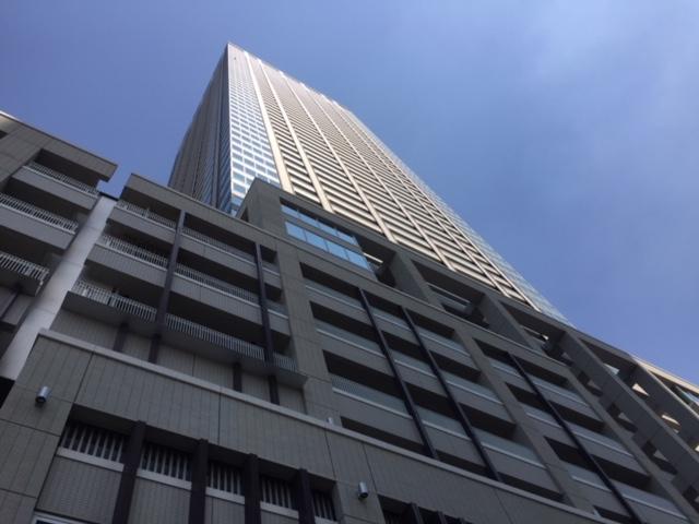 東京23区内駅直結マンションの駅直結度比較(5)月島駅直結 「キャピタルゲートプレイスザ・タワー」