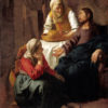 マリアとマルタの家のキリスト(スコットランド国立美術館)