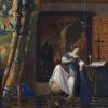 信仰の寓意(メトロポリタン美術館、フェルメール)