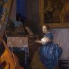 ヴァージナルの前に座る女(ナショナル・ギャラリー、フェルメール)