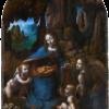 岩窟の聖母(ナショナル・ギャラリー、ダヴィンチ)