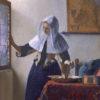 水差しを持つ女(メトロポリタン美術館、フェルメール)