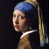 真珠の首飾りの少女(マウリッツ・ハイス美術館、フェルメール)