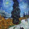 糸杉と星の見える道(クレラー・ミュラー美術館、ゴッホ)