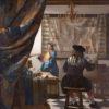 絵画芸術(美術史美術館、フェルメール)