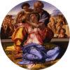 聖家族(ウフィツィ美術館。ミケランジェロ)