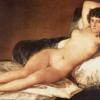 裸のマハ(国立プラド美術館、ゴヤ)