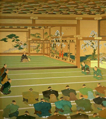 天皇、皇后両陛下が「幕末・明治を一望する-近代史を描いた巨大壁画」(明治神宮外苑 聖徳記念絵画館)をご鑑賞