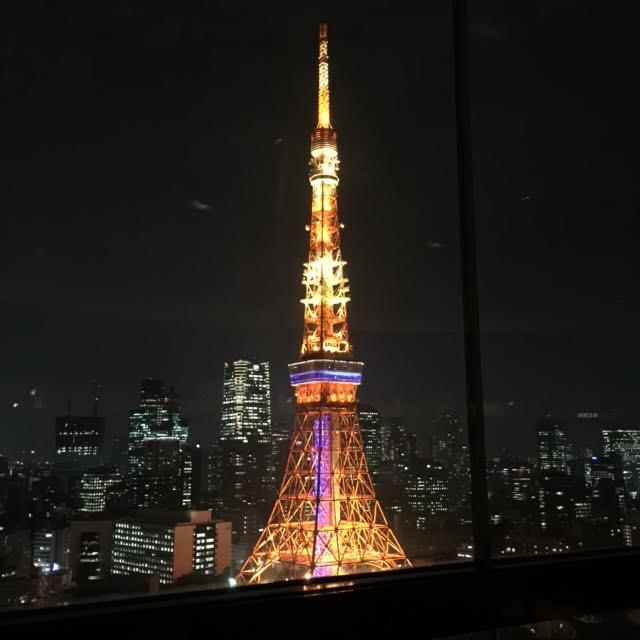 ザ・プリンスパークタワー東京 x 中国国慶節 x TSUKIMI LOUNGE x 東京タワー