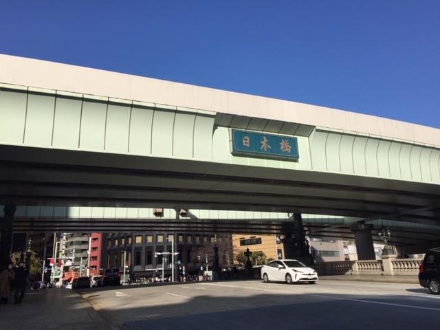 八重洲・日本橋・茅場町周辺再開発x橋(1)川に架かる橋